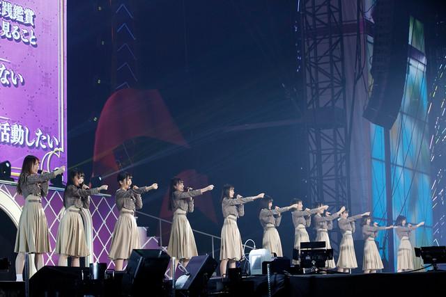 乃木坂46「7th YEAR BIRTHDAY LIVE DAY2」の様子。