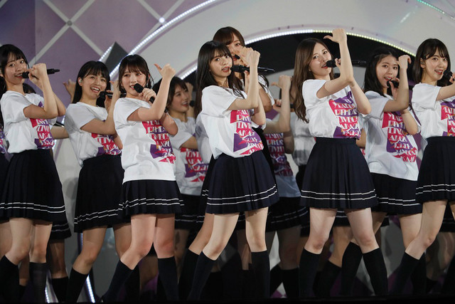 乃木坂46「7th YEAR BIRTHDAY LIVE DAY2」の様子。