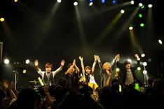 中島愛 「中島愛 凱旋ライブ in mito LIGHT HOUSE~しみじみ茨城~」の様子。(Photo by SHIN ISHIKAWA)
