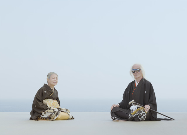 リクルート「ゼクシィ」のCMで樹木希林と内田裕也を撮影。映像と広告のビジュアルを担当している。撮影場所は川崎の倉庫の屋上。(写真提供:内田将二)