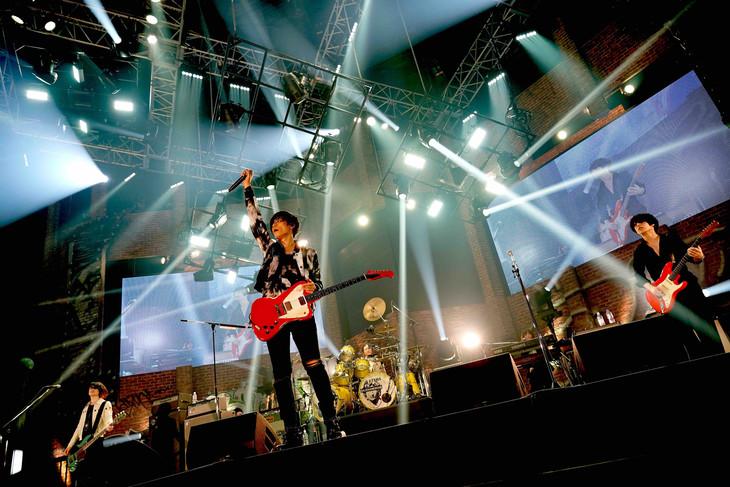 「Sleepless in Japan Tour」ゼビオアリーナ仙台公演の様子。