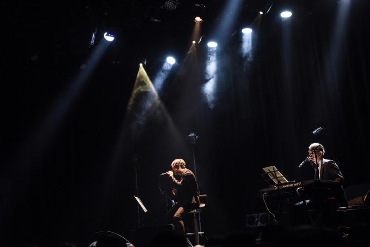 松川ケイスケと真一ジェット(Photo by Masanori Fujikawa)