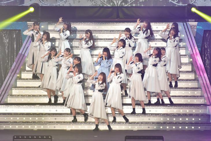 「日向坂46 デビューカウントダウンライブ!!」の様子。