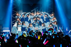 「MTV LIVE PREMIUM:日向坂46 -1st Story-」の様子。
