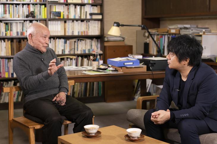 谷川俊太郎とASKA。