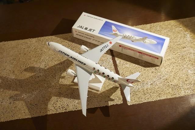 2011年に開催された「JALそれいけ夏旅キャンペーン」に応募し当たった、JAL嵐JETモデルプレーン。