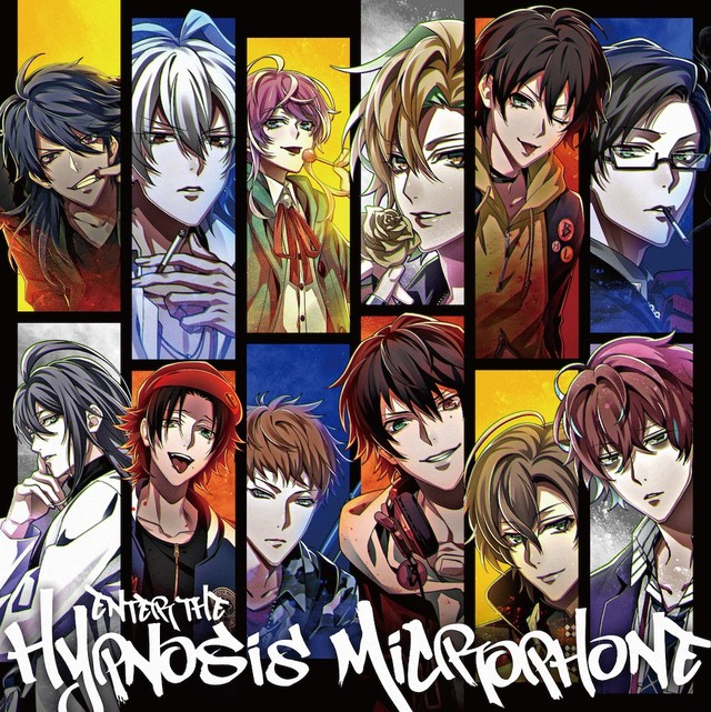 ヒプノシスマイク-Division Rap Battle-「Enter the Hypnosis Microphone」通常盤ジャケット