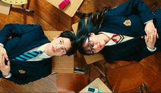 MINT mate box「hanabi」ミュージックビデオのワンシーン。