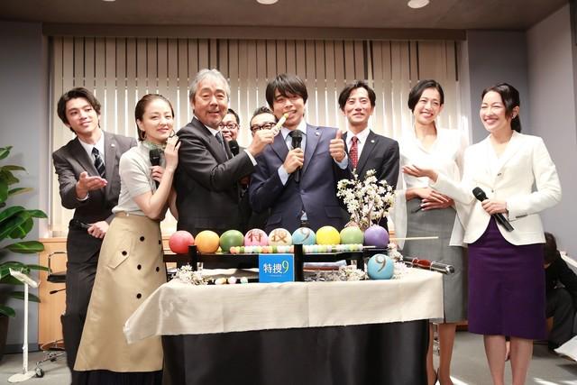 「特捜9 season2」の出演者たち。(写真提供:テレビ朝日)