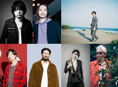 「Noise Fes Powered by HH&MM」5月23日公演出演アーティスト。