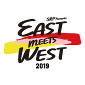 「SRP Presents EAST MEETS WEST 2019」ロゴ