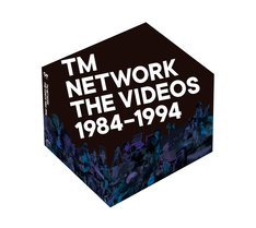 TM NETWORK「TM NETWORK THE VIDEOS 1984-1994」メインビジュアル