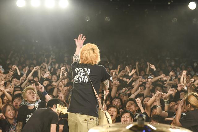 横山健(Vo, G / Ken Yokoyama)(Photo by Teppei Kishida)