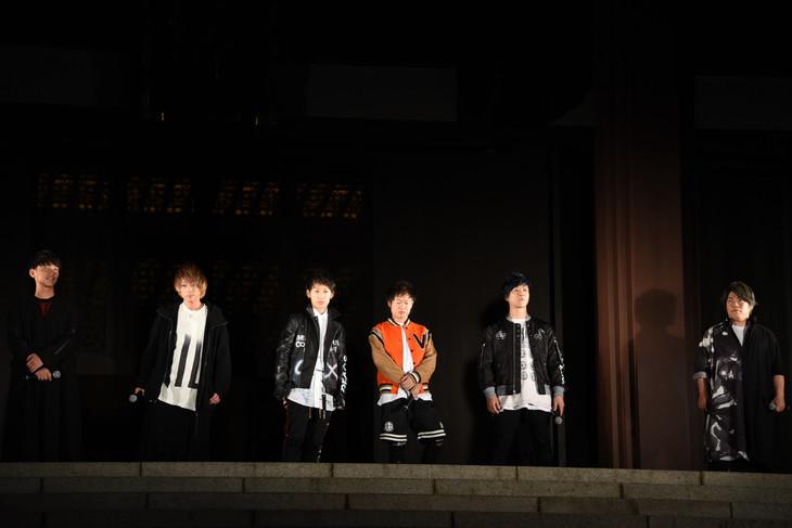 増上寺で行われたイベントの様子。