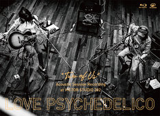 """LOVE PSYCHEDELICO「""""TWO OF US"""" Acoustic Session Recording at VICTOR STUDIO 302」Blu-rayジャケット"""