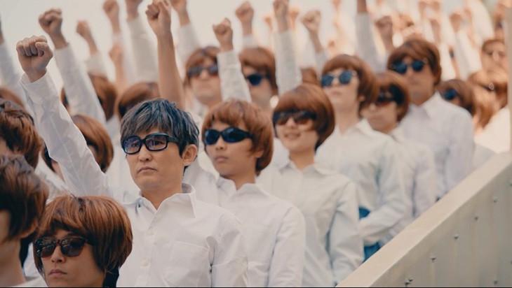 「労働なんかしないで 光合成だけで生きたい」MVのワンシーン。