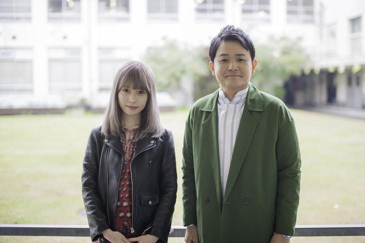 左から藤川千愛、ノブ(千鳥)。