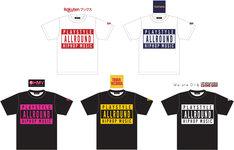 「ALL ROUND HIP HOP」ロゴTシャツ