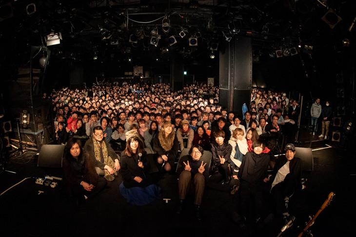 FINLANDS「UTOPIA TOUR」東京・渋谷CLUB QUATTRO公演の様子。(撮影:小野正博)