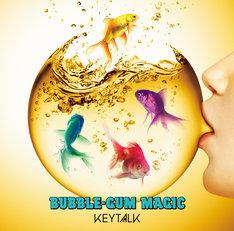 KEYTALK「BUBBLE-GUM MAGIC」初回限定盤ジャケット