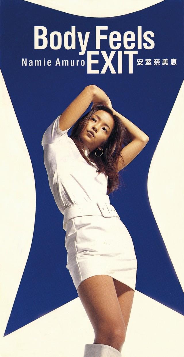 小室哲哉が初めて手がけた安室奈美恵の作品「Body Feels EXIT」ジャケット。(avex trax)