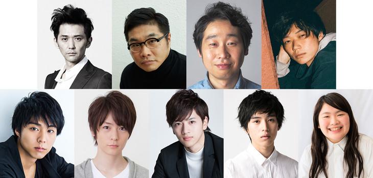 「平成ベストプレイリスト(俳優編)」に参加した9名。