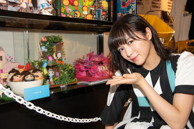 「中山莉子賞」を選んだ中山莉子。