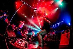 """「""""LEAP""""Release Tour FINAL ONE MAN」東京・TSUTAYA O-WEST公演の様子。(撮影:岩渕直人)"""