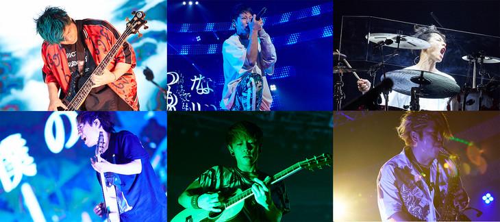 WOWOWライブ「UVERworld ARENA TOUR 2018.12.21 TAKUYA∞生誕祭 ~男祭り at 横浜アリーナ~」ダイジェスト映像より。