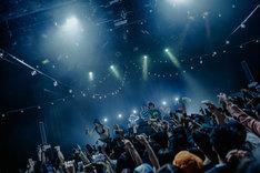 「Yurufuwa Gang & Ryan Hemsworth Asia Tour」東京・WWW X公演の様子。(Photo by Jun Yokoyama @yokoching)
