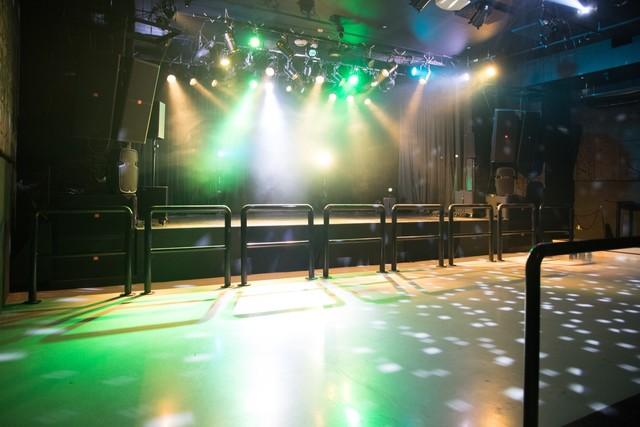 YEBISU YA PROのステージ。