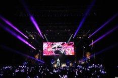 志麻「First Order II -Mission to Save You-」東京・Zepp Tokyo公演の様子。(撮影:岡本麻衣)