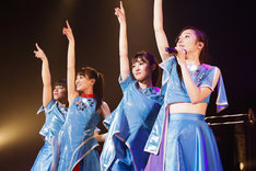 「TEAM SHACHI 1st TOUR 2019 ~タイムトレインかなた~」愛知・日本特殊陶業市民会館 ビレッジホール公演の様子。(撮影:笹森健一)