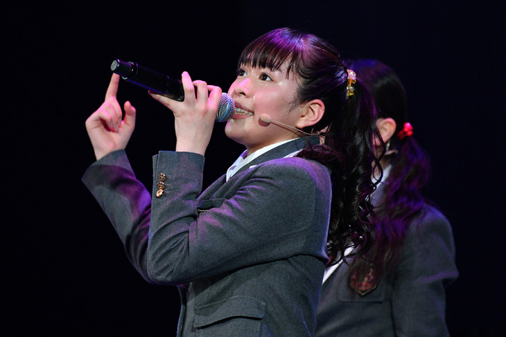 生徒会長に就任した藤平華乃。