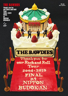 THE BAWDIES「Thank you for our Rock and Roll Tour 2004-2019 FINAL at 日本武道館」Blu-rayジャケット