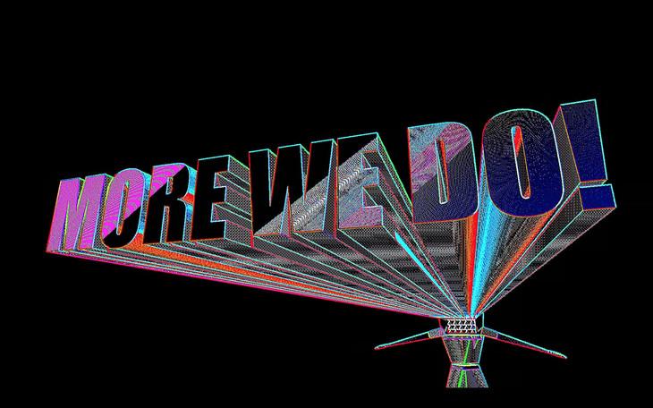 ももいろクローバーZ「MORE WE DO!」ミュージックビデオのワンシーン。