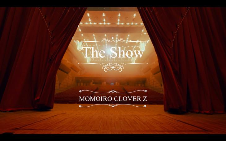 ももいろクローバーZ「The Show」ミュージックビデオのワンシーン。