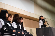 "「lyrical school FREE LIVE ""全校集会"" Vol.1」の様子。"