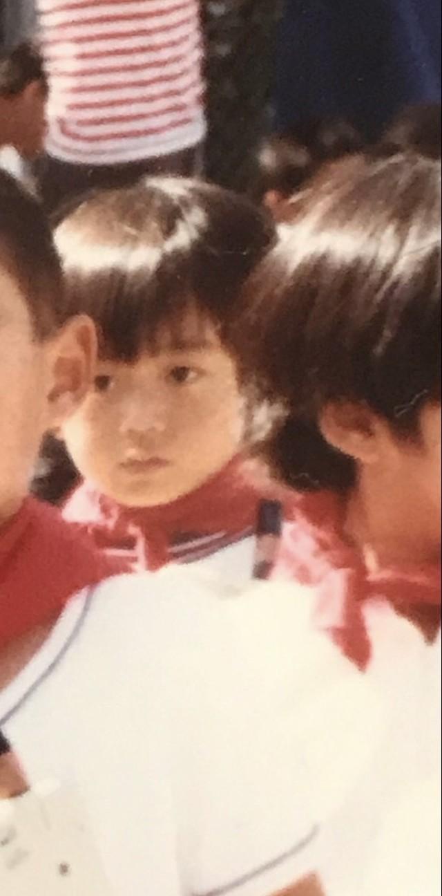 氷川きよしが5歳の頃の写真