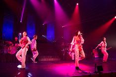 大原櫻子「大原櫻子 5th Anniversary コンサート『CAM-ON! ~FROM NOW ON!~』」の様子。