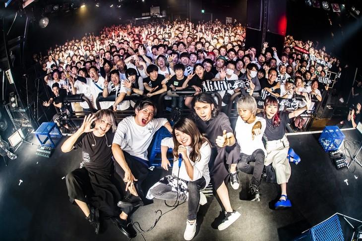 AliA「AliAliVe 2019」東京・渋谷CLUB QUATTRO公演の様子。(Photo by @cazrowAoki)