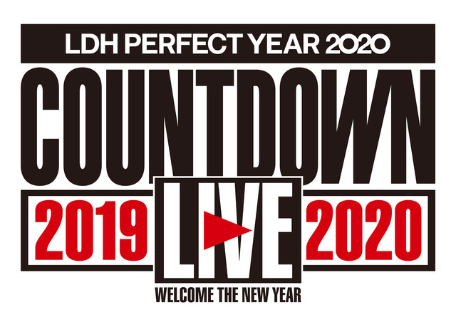「LDH PERFECT YEAR 2020 COUNTDOWN LIVE 2019→2020」ロゴ