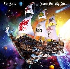 THE ALFEE「Battle Starship Alfee」通常盤ジャケット