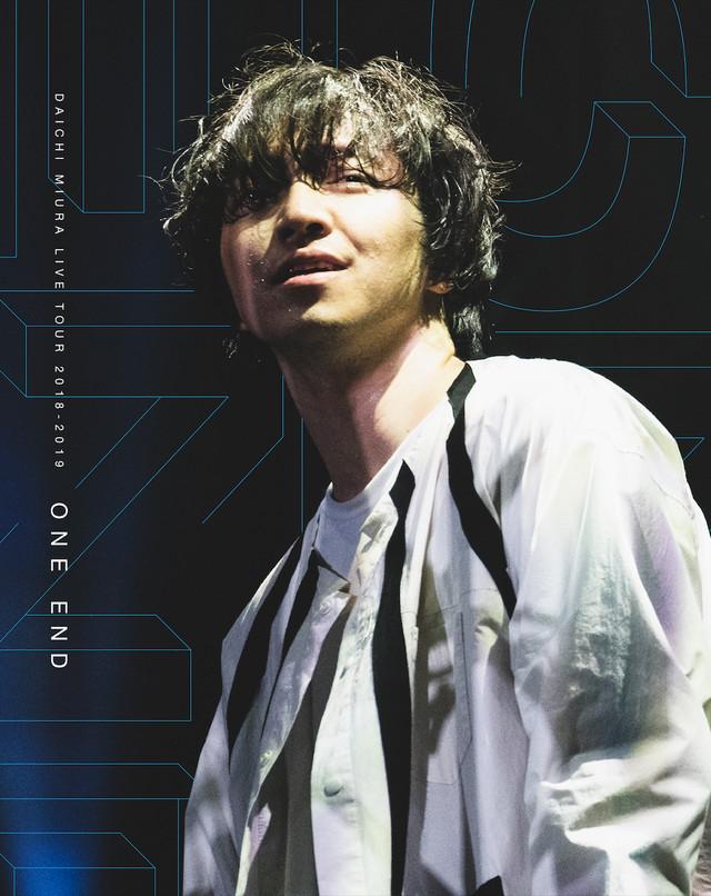三浦大知「DAICHI MIURA LIVE TOUR ONE END in 大阪城ホール」BD盤ジャケット