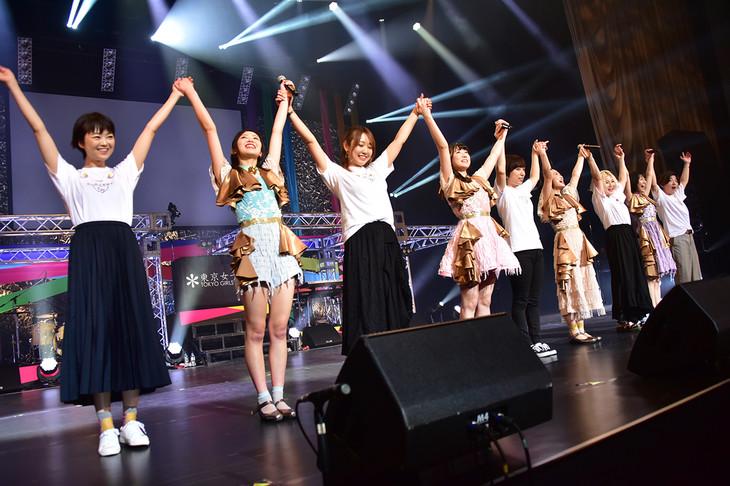 「東京女子流 CONCERT*07『10年目のはじまり』」の様子。