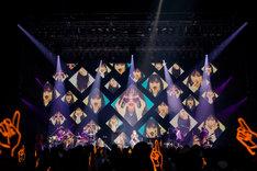 「愛 am BEST, too tour 2019~イエス!ここが家ッス!~」の様子。(Photo by 田中聖太郎)