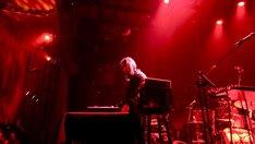 細野晴臣「Haruomi Hosono Gramercy Theatre」5月29日アメリカ ニューヨーク Gramercy Theatre公演にDJとして出演したショーン・レノン。 (Photo by M.Handa)
