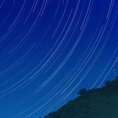 空気公団「夜はそのまなざしの先に流れる」アナログ盤ジャケット