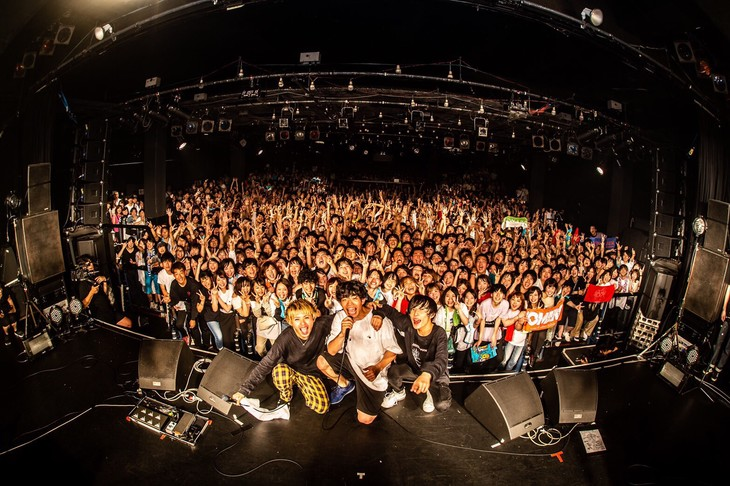 「SLAM TOUR 2019」東京・LIQUIDROOM公演の様子。(Photo by masalivephoto)(Photo by masalivephoto)