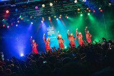 EMPiRE「NEW EMPiRE TOUR」新宿BLAZE公演の様子。(Photo by Sotobayashi Kenta)